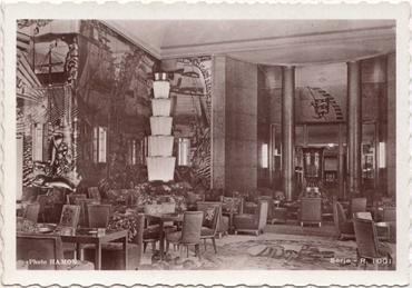 Paquebot Normandie - Carte postale glacée - Bords dentelés - Edition anonyme - Réf. Site : ANOG 20 R1001 SF