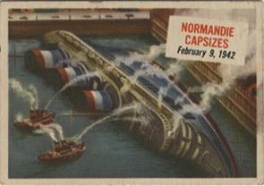 Paquebot Normandie - CARTE AMERICAN